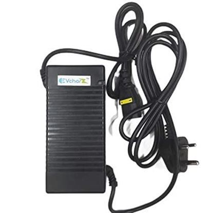 Picture of EVcharZ 48V (13S 54.6V) 2.6 Amp Lithium ion (NMC) Charger